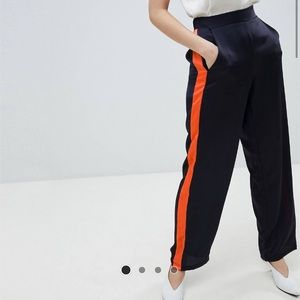 Vila Sport Striped Pants